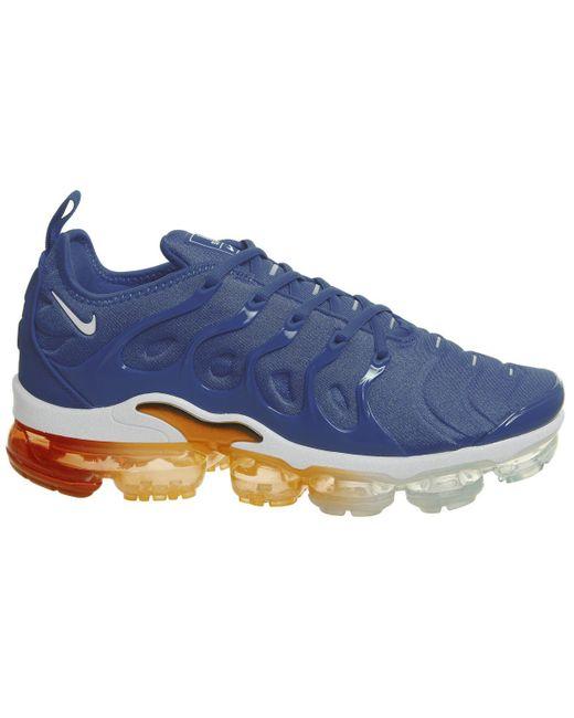 94912e65dcc57 ... Nike - Blue Air Vapormax Plus Trainers for Men - Lyst ...