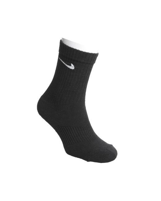 Nike - Black Dri-fit Cushion Crew 3 Pack Socks for Men - Lyst