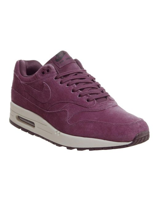 new styles f5a11 10a6d Nike - Purple Air Max 1 Trainers for Men - Lyst ...