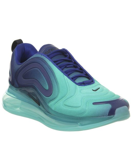 Women's Blue Air Max 720 Trainers