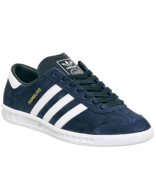 Adidas | Blue Hamburg for Men | Lyst