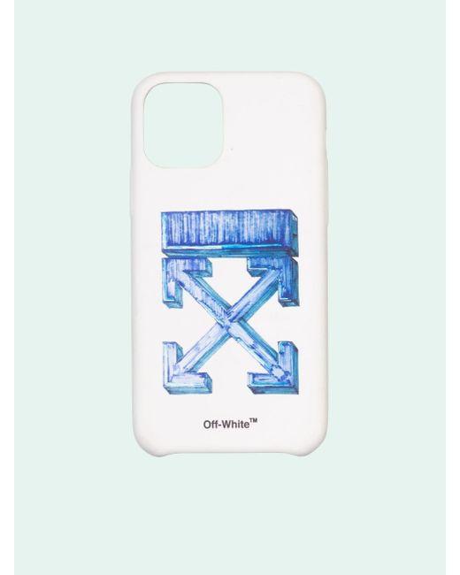 メンズ Off-White c/o Virgil Abloh Marker Arrows Iphone 11 ケース White
