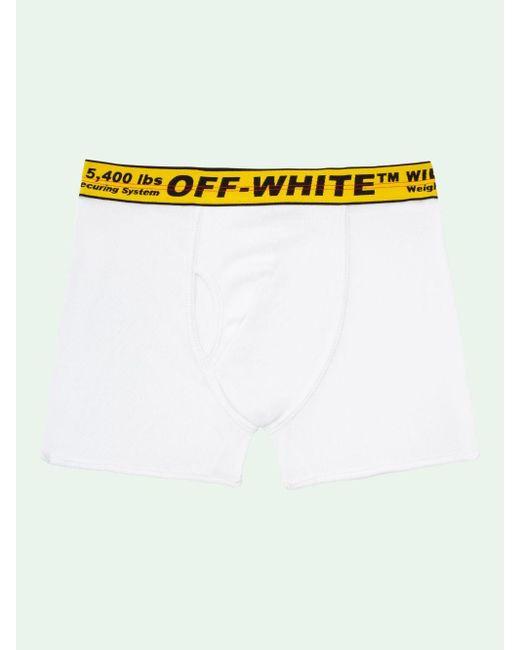 メンズ Off-White c/o Virgil Abloh インダストリアル ボクサーパンツ セット White