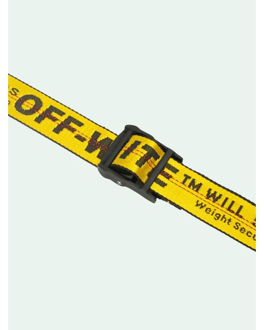 Off-White c/o Virgil Abloh Classic Industrial ベルト Yellow