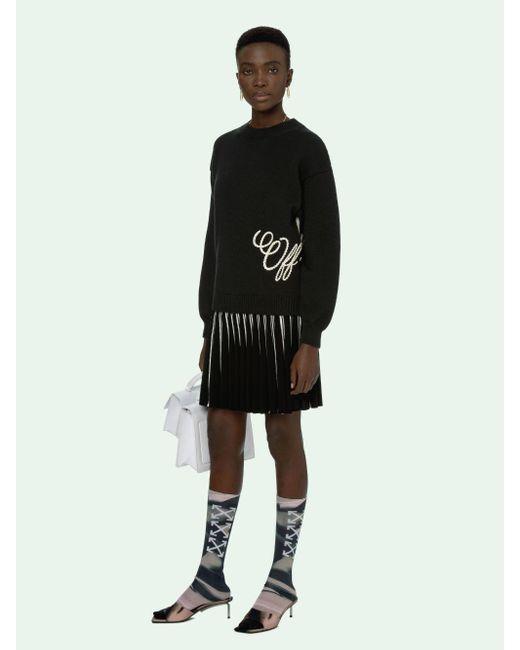 Off-White c/o Virgil Abloh グラフィック スウェットシャツ Black