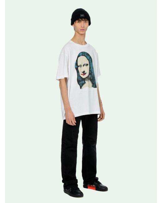 メンズ Off-White c/o Virgil Abloh グラフィックtシャツ White