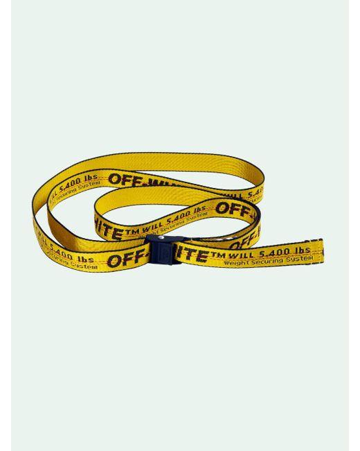 Off-White c/o Virgil Abloh インダストリアル ベルト Yellow