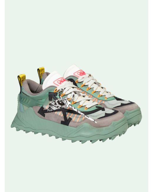 Off-White c/o Virgil Abloh Green Odsy-1000 Sneakers for men