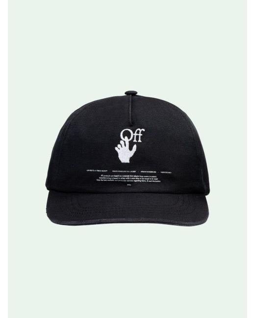 メンズ Off-White c/o Virgil Abloh Hands Off キャップ Black