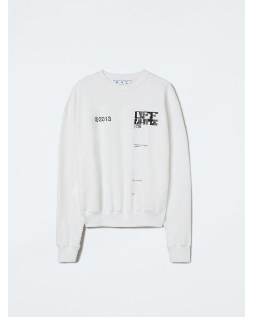 メンズ Off-White c/o Virgil Abloh Tech Marker スウェットシャツ White