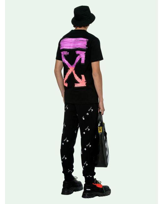 Off-White c/o Virgil Abloh Black Marker S/s T-shirt for men