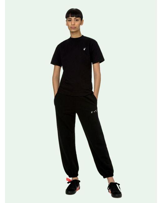 Off-White c/o Virgil Abloh ロゴ Tシャツ Black