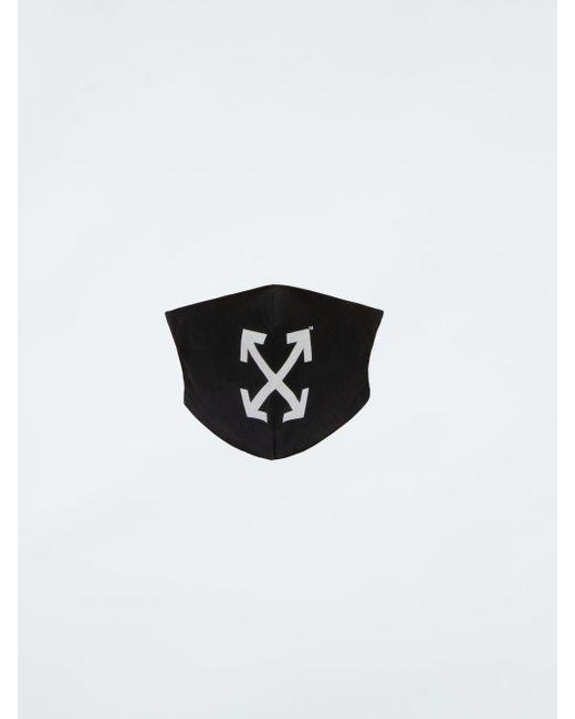 Off-White c/o Virgil Abloh ロゴ マスク Black
