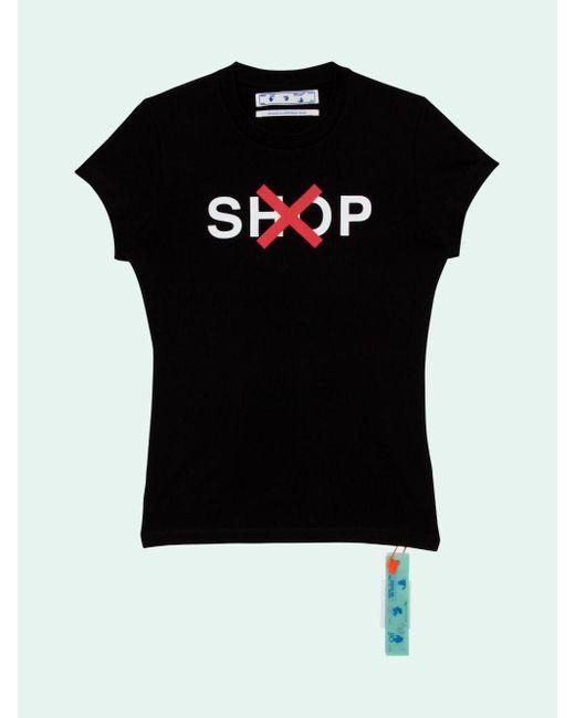 Off-White c/o Virgil Abloh グラフィック Tシャツ Black