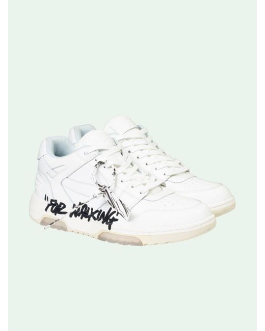 """Off-White c/o Virgil Abloh White Out Of Office """"ooo"""" Sneakers for men"""