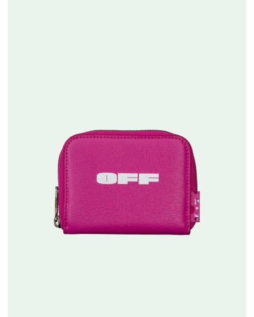 Off-White c/o Virgil Abloh ファスナー財布 Pink