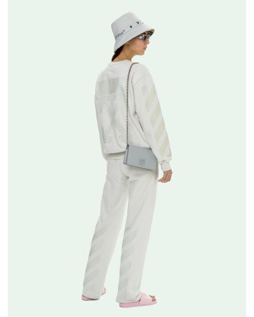 Off-White c/o Virgil Abloh ロゴ スウェットシャツ White