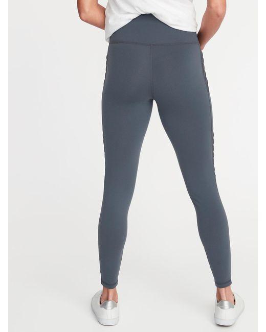 Young Women High Waist Ultra Soft Brown Lattice British Plaid Athletic Yoga Pant Leggings