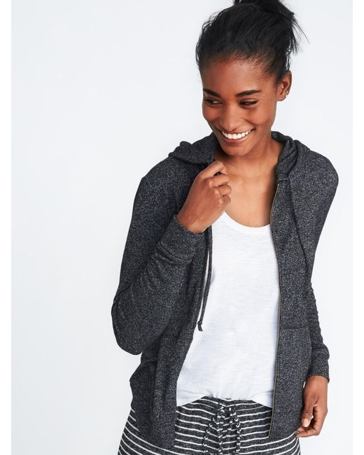 Old Navy - Multicolor Relaxed Plush-knit Sleep Hoodie - Lyst