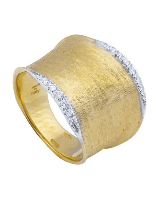 Marco Bicego - Metallic Lunaria Gold Diamond Pavé Ring - Lyst