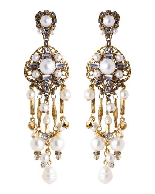 Erickson Beamon - Metallic Pretty Woman Earrings - Lyst
