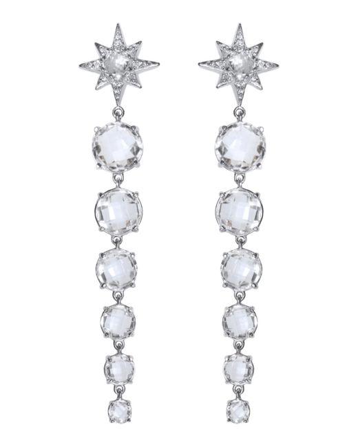 Anzie - Metallic Aztec Graduated Starburst Earrings - Lyst