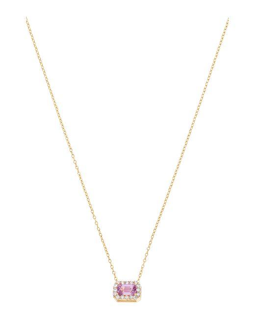 Alison Lou - Metallic S Diamond Necklace - Lyst