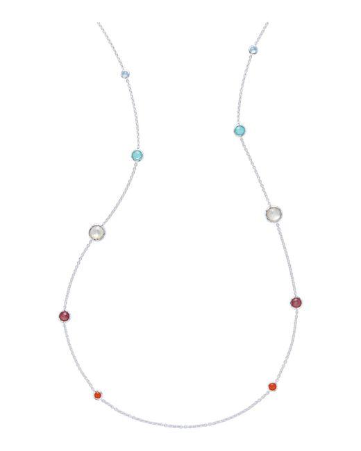 Ippolita - Metallic Rock Candy Graduated Lollipop Station Necklace - Lyst
