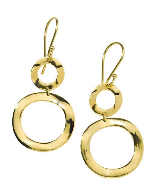 Ippolita - Metallic Classico Mini Snowman Earrings - Lyst