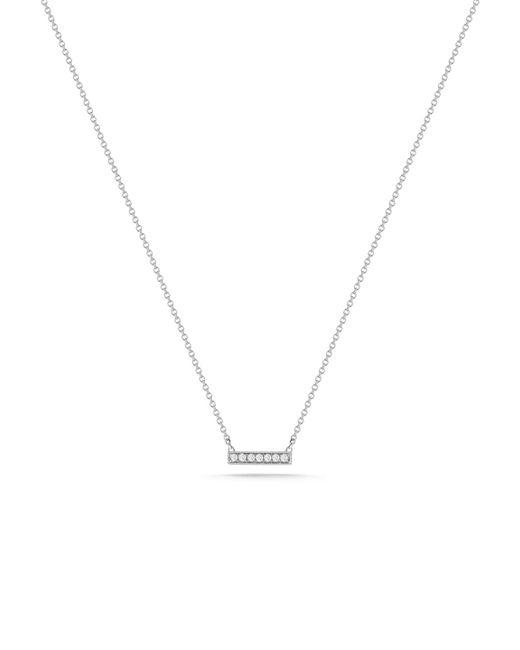 Dana Rebecca - Metallic Sylvie Rose Small Bar Necklace - Lyst