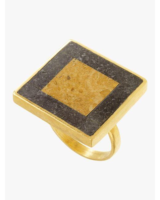 Pippa Small - Metallic Afsana Ring - Lyst