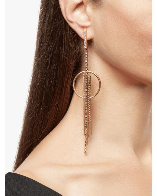 Erickson Beamon Metallic Breaker Of Chains Earrings