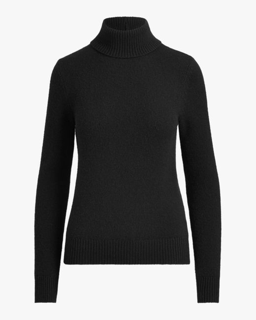 Ralph Lauren Collection - Black Lofty Cashmere Turtleneck Sweater - Lyst