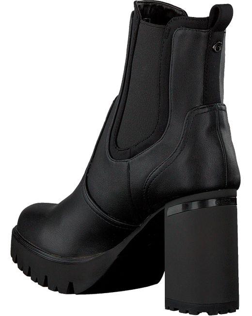 Guess Black Schwarze Chelsea Boots Sabina