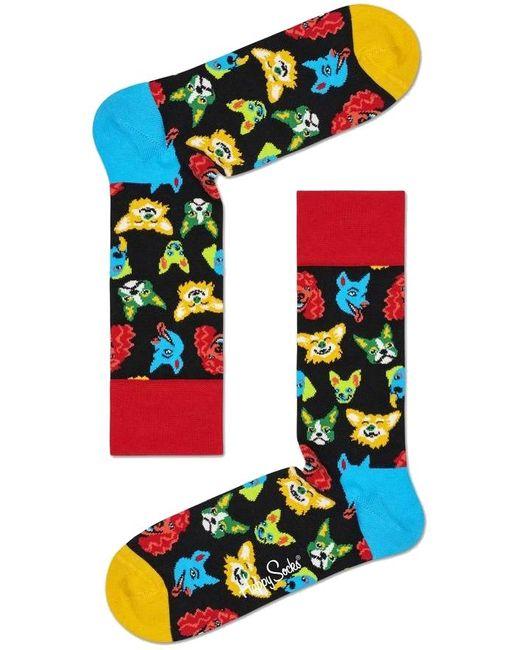 Happy Socks Multicolor Mehrfarbige/bunte Socken Funny Dog