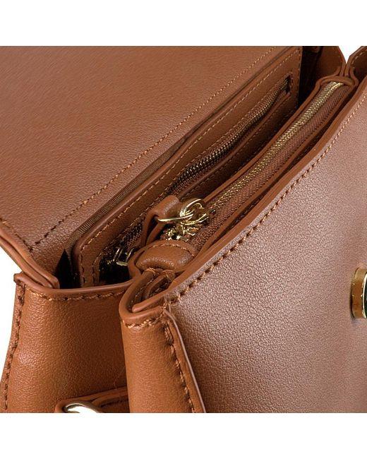 Valentino Brown Cognacfarbene Valentino Handbags Umhängetasche Bigs Satchel