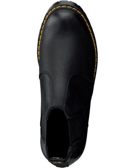 Dr. Martens Zwarte Chelsea Boots Rometty in het Black