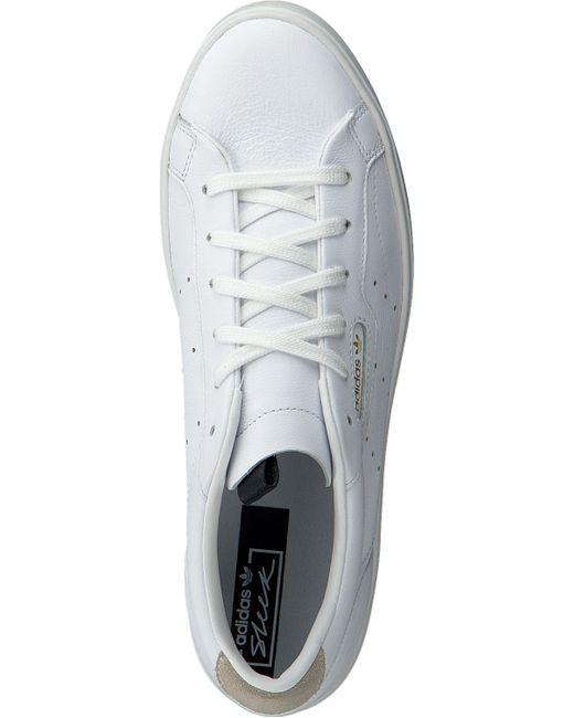 Adidas Witte Sneakers Sleek W in het White