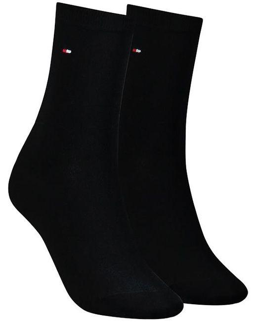 Tommy Hilfiger Black Schwarze Socken 371221
