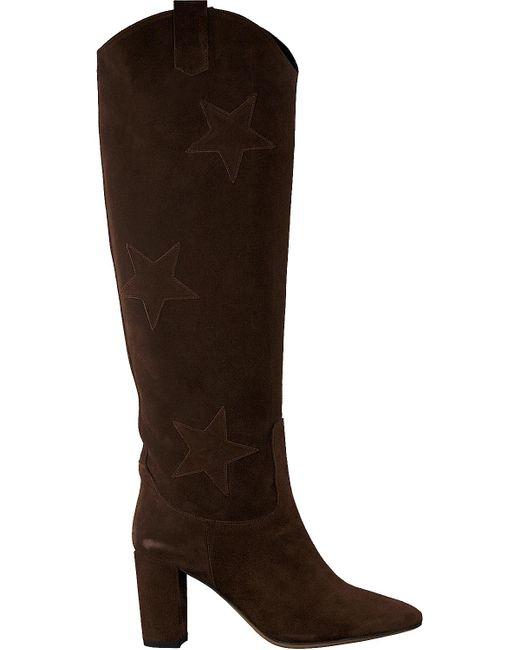 FABIENNE CHAPOT Brown Braune Hohe Stiefel Hugo High Star Boot
