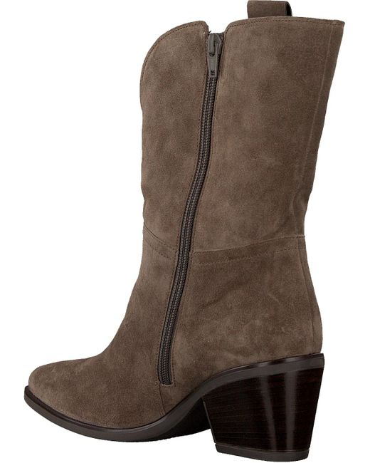 Gabor Brown Taupe Hohe Stiefel 692