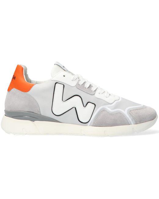 WOMSH Graue Sneaker Low Runny Heren in Gray für Herren