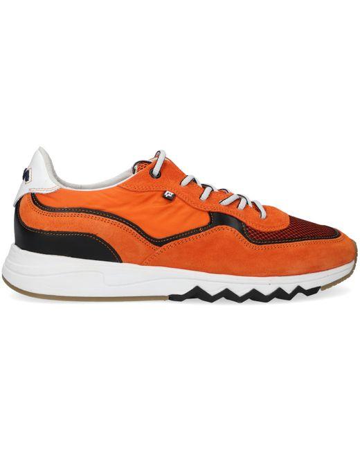 Floris Van Bommel Orangene Sneaker Low 16392 für Herren
