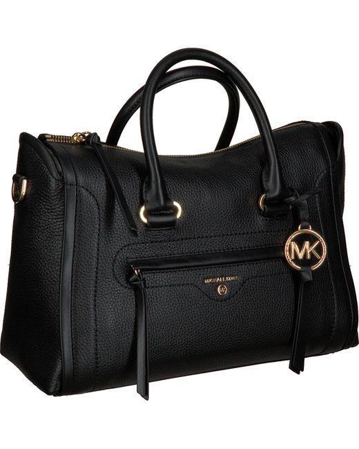 Michael Kors Black Schwarze Handtasche Md Satchel