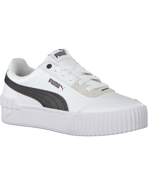PUMA Witte Lage Sneakers Carina Lift in het White