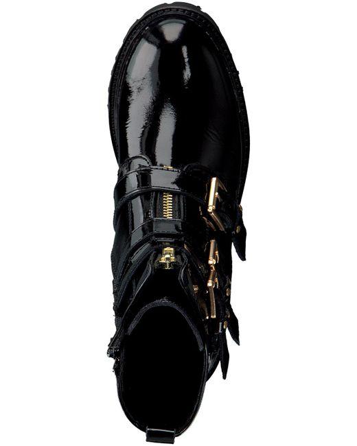 Omoda Black Schwarze Stiefeletten Bee 572