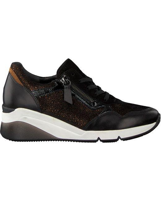 Gabor Zwarte Sneakers 488 in het Black
