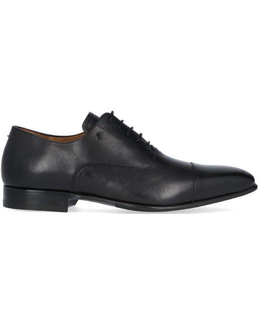 van Bommel Zwarte Nette Schoenen 16395 in het Black voor heren