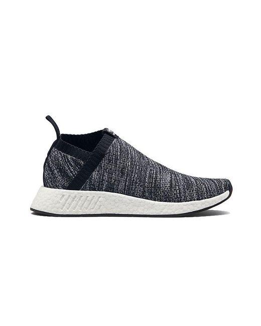 lyst adidas originali scarpe per gli uomini cs2 nmd da9089 in nero per gli uomini.