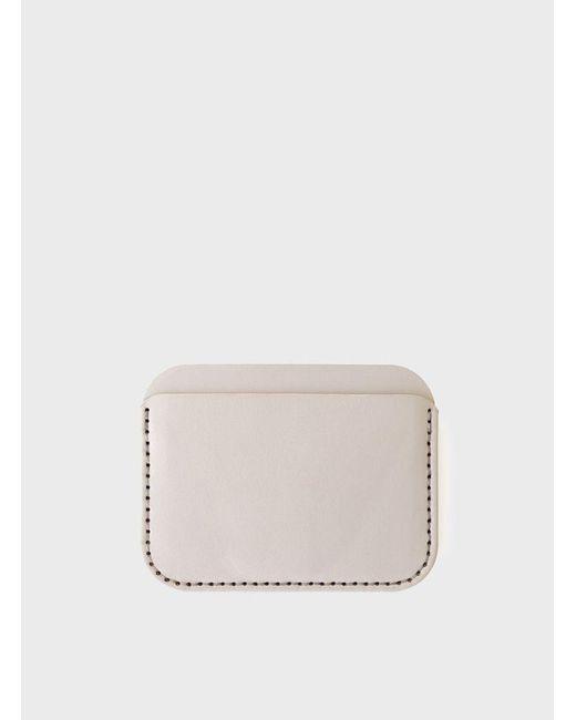 Makr | Gray Grey Round Luxe Wallet for Men | Lyst